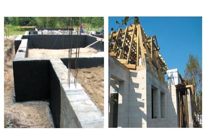 Pierwsze kroki na budowie