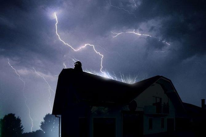 Dach odporny na burzę i trąby powietrzne