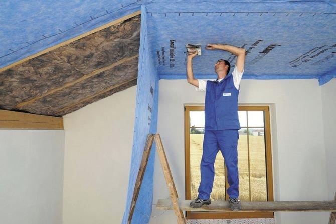 Dach i poddasze ocieplone wełną mineralną