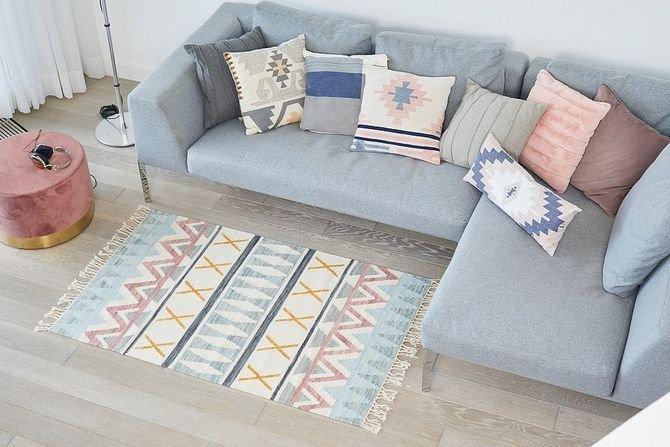 W zgodzie z naturą - modne wzory i kolory dywanów