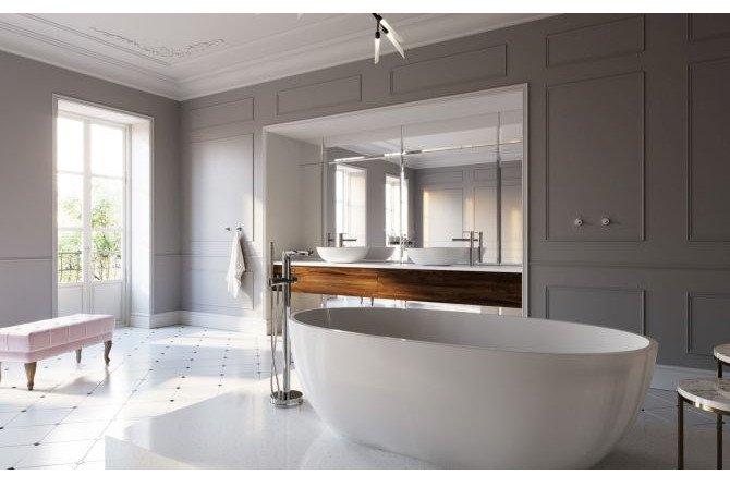 Łazienka we francuskim stylu