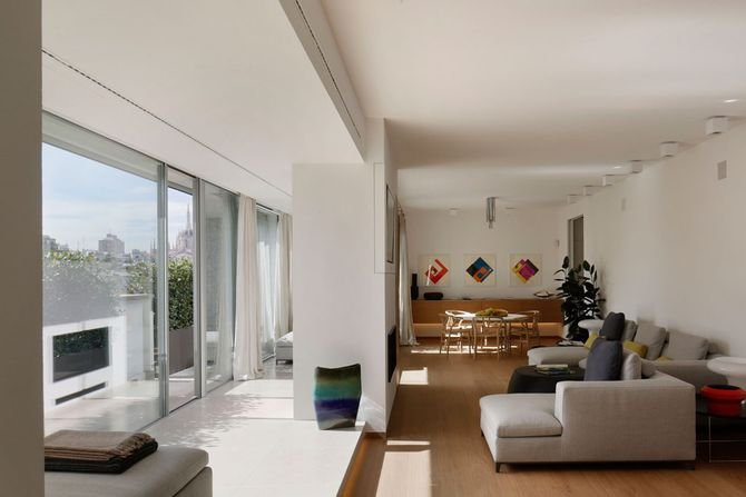 Nowoczesny apartament w sercu Mediolanu
