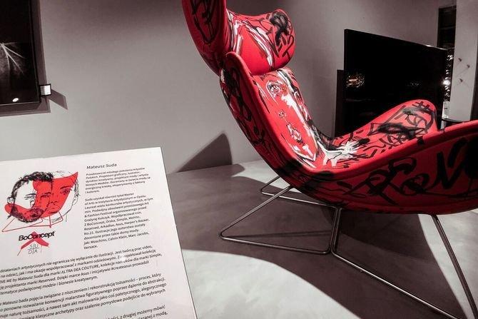 Fotel Imola według projektu Mateusza Sudy