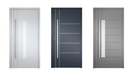 Drzwi aluminiowe do domów