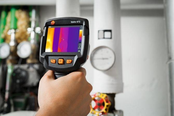 Termowizja w wersji Smart - seria kamer termowizyjnych testo