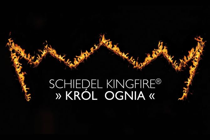 Król ognia - system kominowy Kingfire® Lineare S