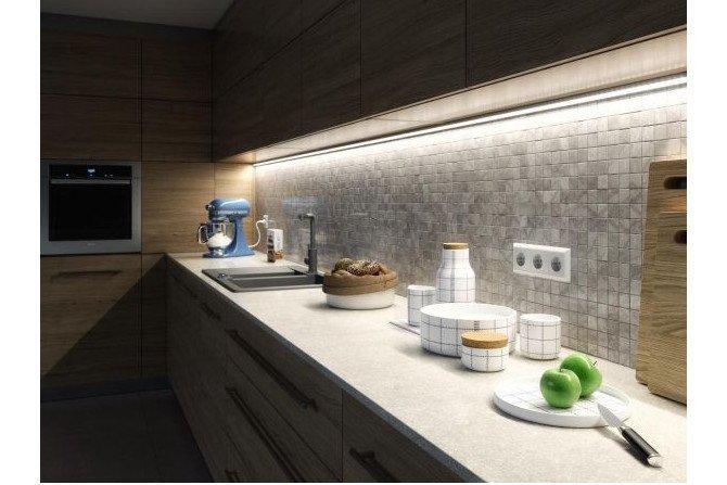 Nowoczesne oświetlenie kuchni
