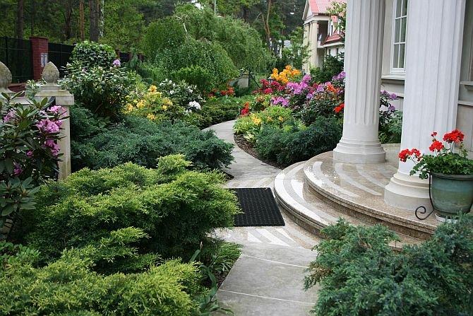 Ładny ogród nie musi być drogi