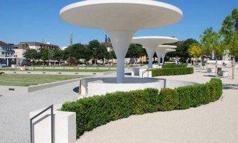 Rozwiązanie systemowe Dach komunikacyjny typ zieleń - ruch pieszy