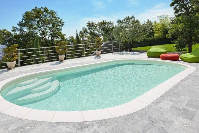 Przydomowy basen w ogrodzie