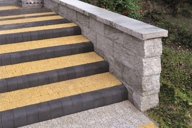 Jak zbudować schody z kostki brukowej