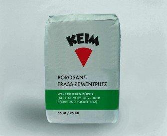 Obrzutka KEIM POROSAN®-TRASS-ZEMENTPUTZ