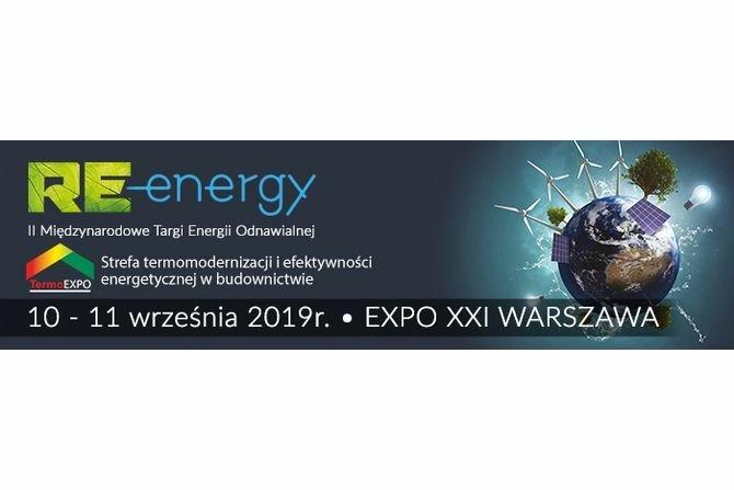Międzynarodowe Targi Energii Odnawialnej Re-energy 2019 - relacja