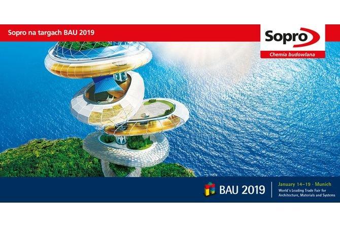 Sopro na targach BAU 2019