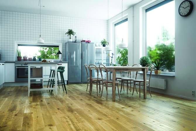 Sposób na drewnianą podłogę