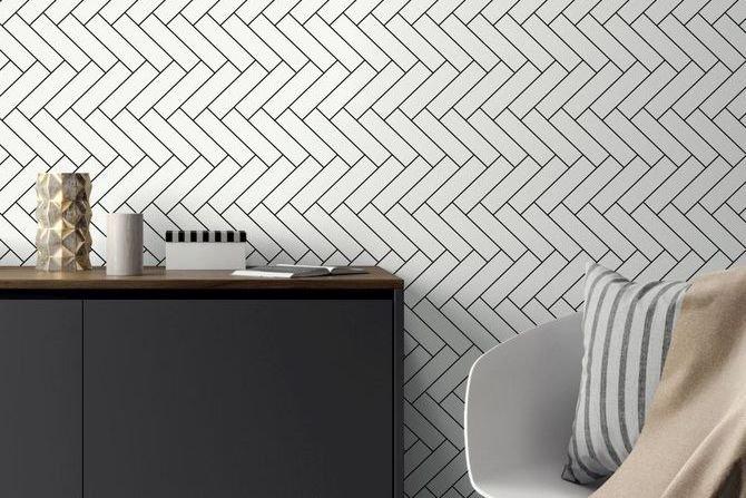 Geometria i art deco. Nowe wzory tapet