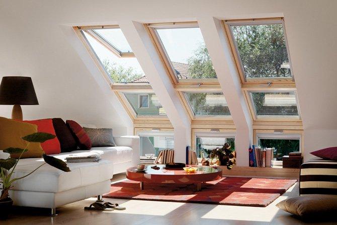 Poddasze bez wad, czyli jak prawidłowo dobrać i rozmieścić okna dachowe na poddaszu