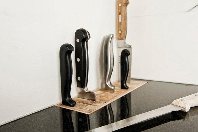 Gdzie schować noże?