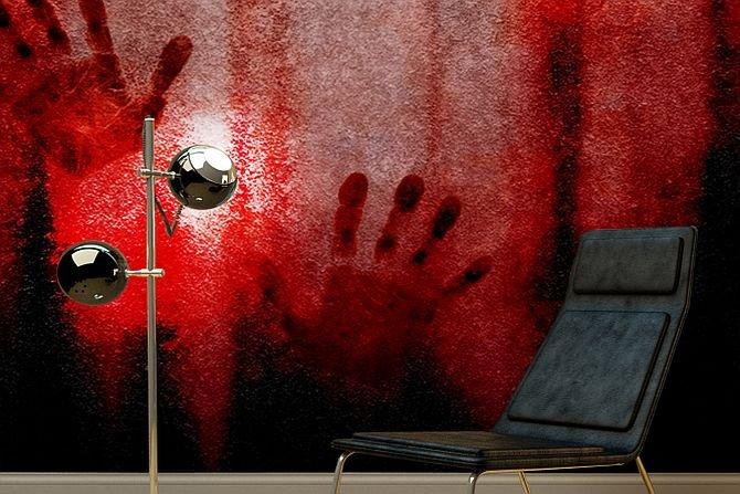 Masakra na ścianie