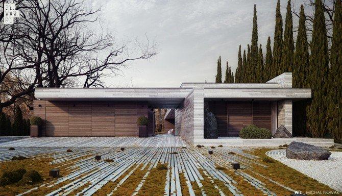 Projekt domu horyzontalnego polskiej pracowni zdobył wyróżnienie w konkursie World Architecture Award – 20+10+X