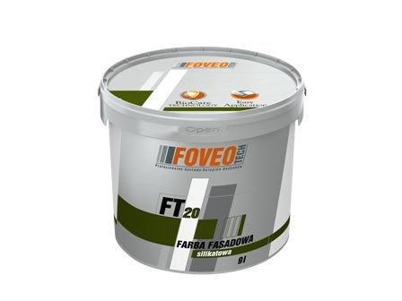 Farba elewacyjna: FOVEO TECH Farba Fasadowa Silikatowa FT 20