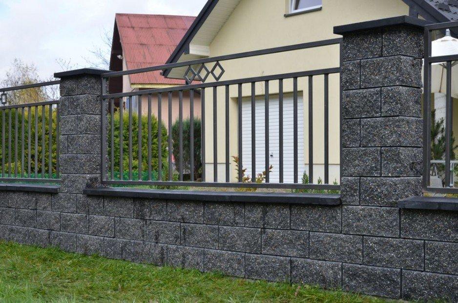 Ogrodzenie murowane GORC de Luxe GL22