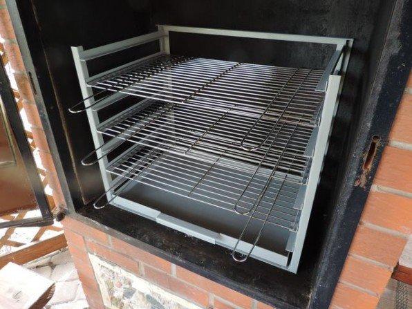 Wkład grillowy do wędzarni w altance