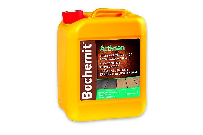 Środek czyszczący do zszarzałego drewna Bochemit Activsan