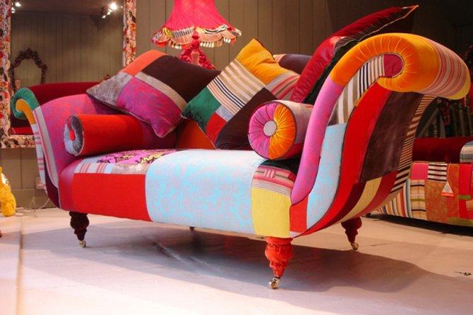 Kolorowe fotele