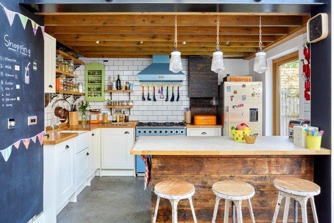 Kolorowe mieszkanie dla młodych