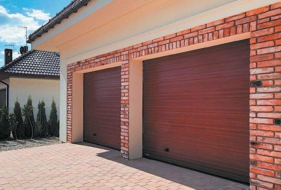 Brama garażowa VENTE K2 RCS