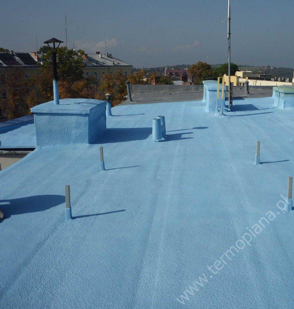 TermoPiana - natryskowa termoizolacja i hydroizolacja dachów