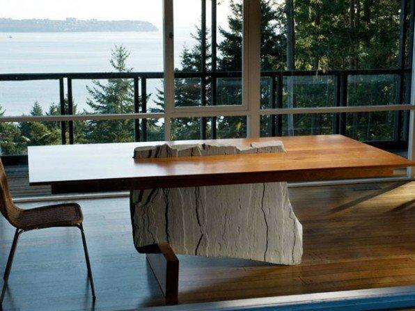 Kamienne stoły
