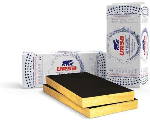 Ocieplenia: Płyta z wełny mineralnej URSA AKP 3/V