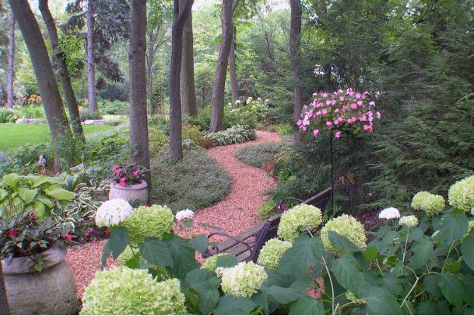 Piękne ścieżki ogrodowe