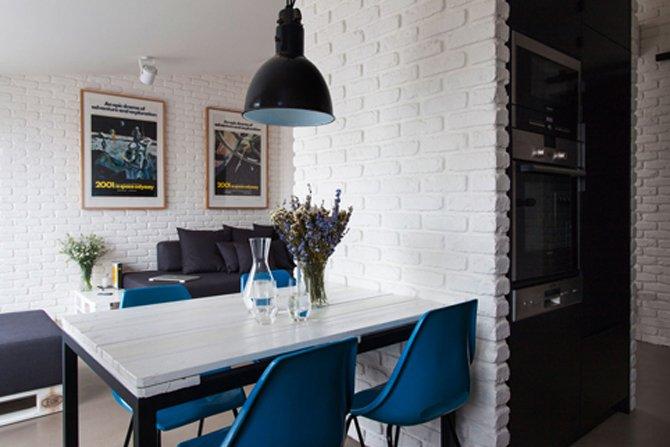 Apartament w minimalistycznym stylu