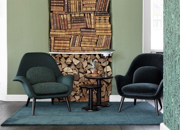 Swoon Lounge Chair - fotel z salonów do normalnych mieszkań