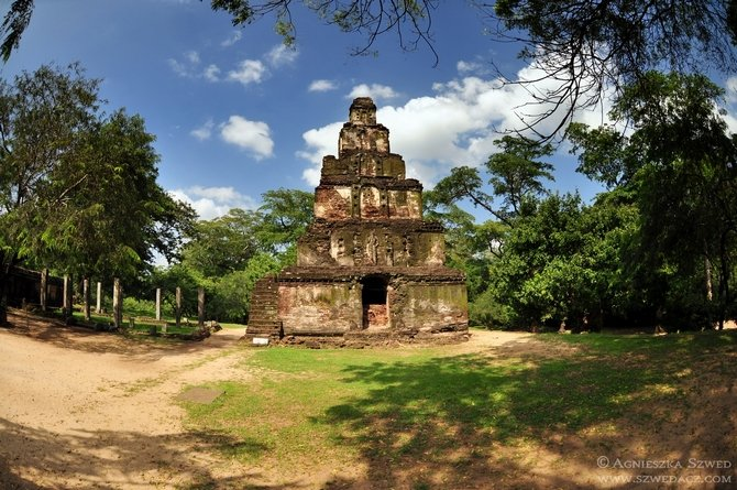 Polonnaruwa - kolejna stolica Cejlonu
