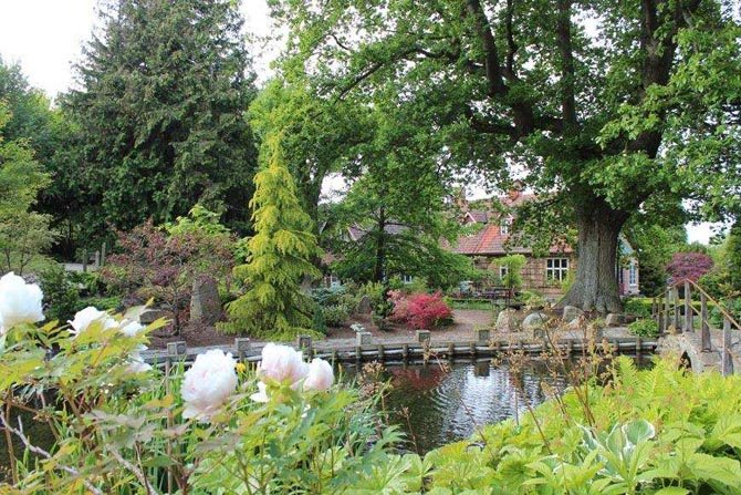 Stary dom i tajemniczy ogród
