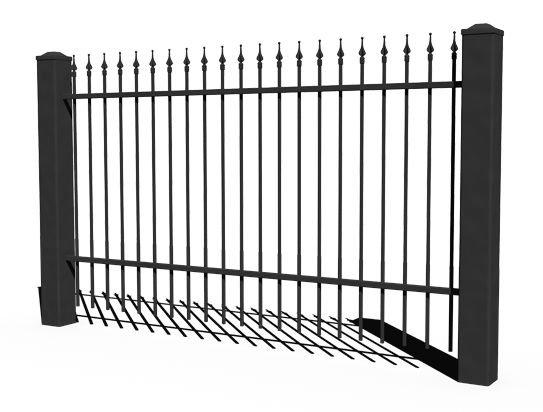 System ogrodzeń posesyjnych BASIC