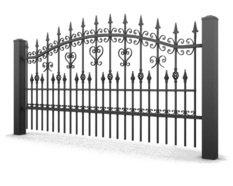 System ogrodzeń posesyjnych LUX