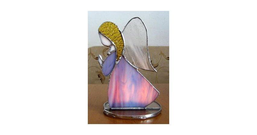 Aniołek-świecznik – wycinanie kół