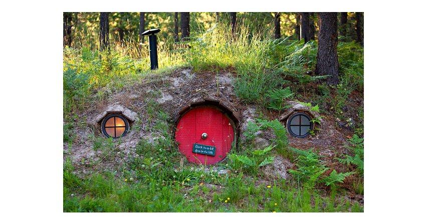 Domy w hobbitowym stylu
