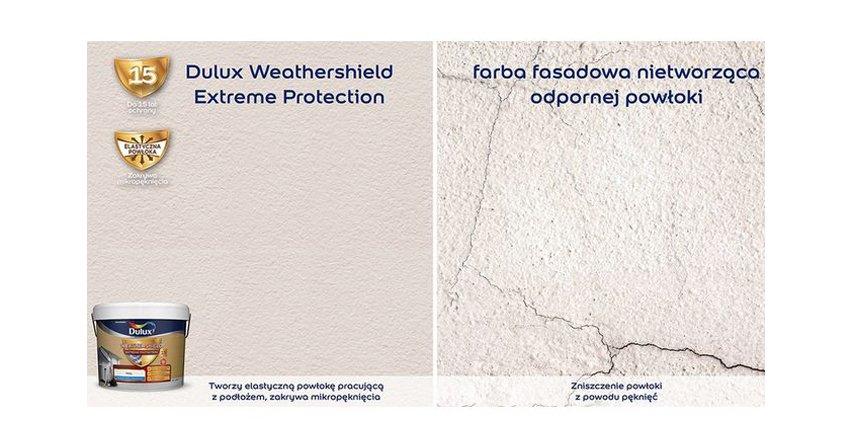 Farby fasadowe Dulux Weathershield dostępne w Polsce