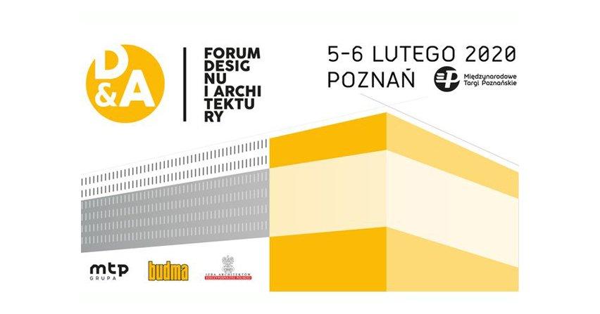 Forum Designu i Architektury na targach BUDMA 2020