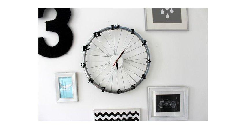 Jak zrobić oryginalny zegar z koła od roweru