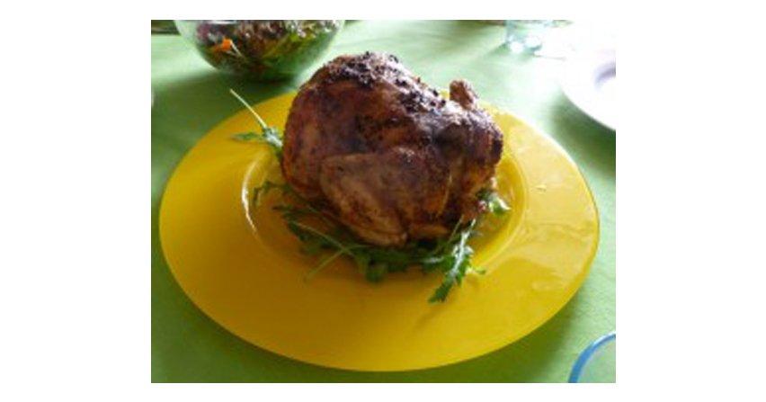 Kurczak w ziolowej marynacie