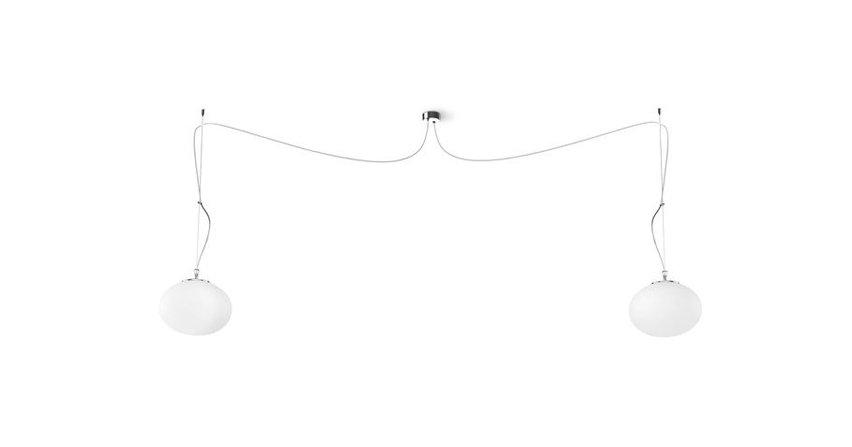 Modna lampa do salonu lub kuchni