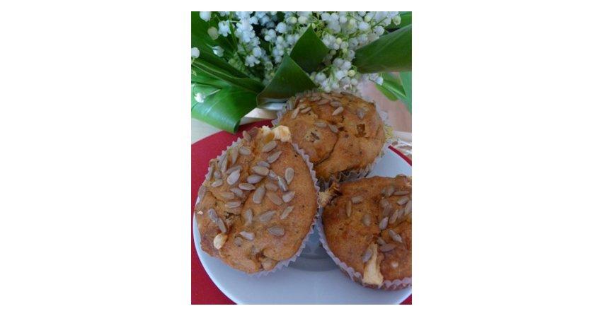 Muffinki cebulowe