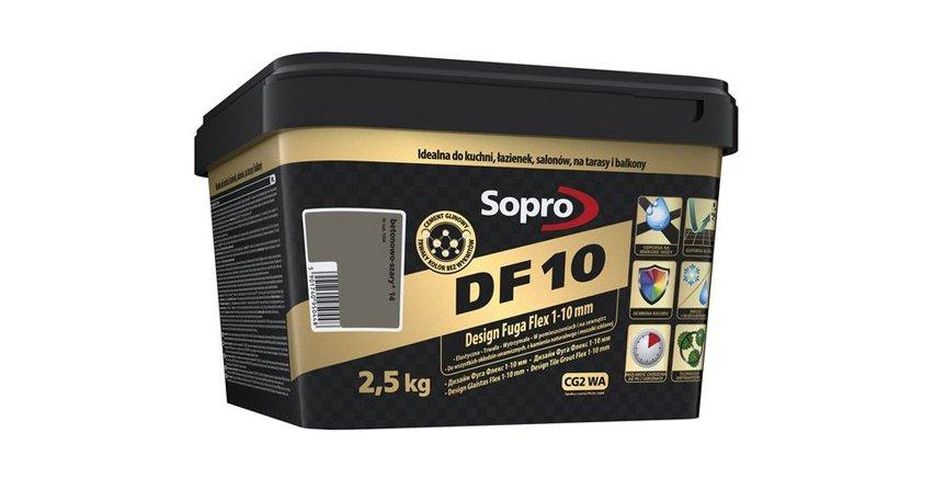 Nowa odsłona fugi Sopro DF 10